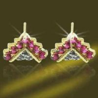 China 925 Silver Sterling CZ Earring (ESH3366) wholesale