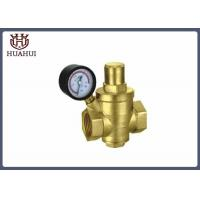 China Proportional Water Pressure Regulator Valve Automatically With Brass Seat wholesale