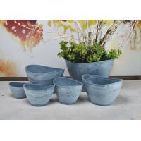 Buy cheap Indoor Decorative Abstract Flower Pots Plain Eco Friendly Fashion Style from wholesalers