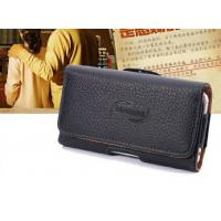 Buy cheap iPhone Clamshell Belt hanging waist leather case Old man phone bag Universal from wholesalers