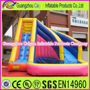 China Cheap Water Slide Plato PVC Material Water Slide wholesale