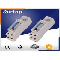 China Din Rail Mechanical Timer Switch , 24 Hour Programmable Digital Timer Switch wholesale