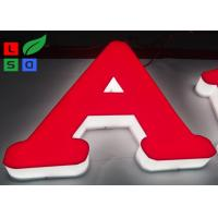 China RAL Color LED Channel Letter Signs High Lighting Uniformity For Interior Signage wholesale