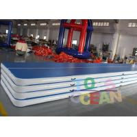 China Custom Inflatable Air Gymnastics Mats For Physical Training Yoga Board wholesale