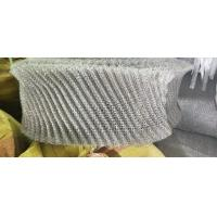 China Corrosion Resistance Stainless Steel Knitted Wire Mesh Filter Customized Length on sale