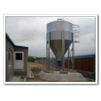 China Galvanized Feed Silo Bins for Poultry and Livestock Farm wholesale