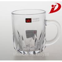 China Fashion high quality glass tea cup,Material:lead-free glass,Logo:print base on customer