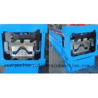 China Panasonic PLC Control System For Automatical Valley Flashing Ridge Cap Tile Roll Forming Machine wholesale