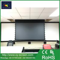 China 100 120 150 Daylight Screens Anti-Light Tab Tension Electric Projector Screen on sale
