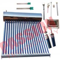 China Food Grade Integrative Heat Pipe Solar Water Heater Portable Simple Structure wholesale