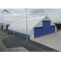 China Water Proof Large Aircraft Hangars Different Size With Heavy Duty Materials wholesale