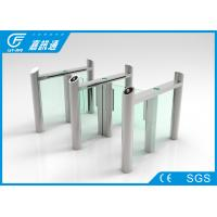 Buy cheap Building Hall Speed Swing Gate Turnstile , Comercial Turnstile Gate Systems from wholesalers