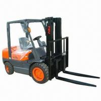 China Diesel Forklift, 3.5T Loading Capacity, 3.0m Lifting Height  wholesale