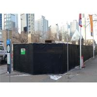 China Rhombus Design Temporary High Way Noise Barriers Portable Noise Insulation Blanket 40dB For Outside wholesale