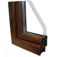 Quality Powder Coated Aluminium Window Profiles For CNC Drilling Milling Machining for sale