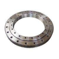 China Single Row Four Point Contact Ball Slewing Ring Bearings External Gear For Axial Load wholesale