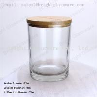 China Wooden Bamboo Lid With Customized Brand Logo wholesale