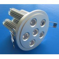 Quality Home, Museum, School Color Changing or White 18W 6 x 3W Epistar LED Downlight Fixtures for sale