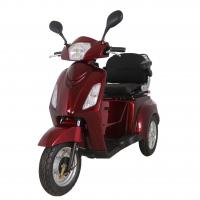 China CE Certificated Aluminium Alloy Tire Three wheels Electric Tricycle for Elder with Differential Motor wholesale