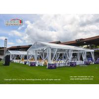 China 10M x 20M Outdoor  Transparent Roof Marquee Tent for 200 People Wedding Party Tents wholesale
