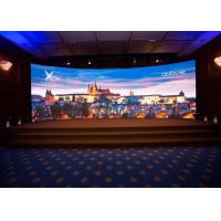 China Pixel Pitch 3.91mm Audio Visual Screens , Indoor Curved LED Display AC110-220V on sale
