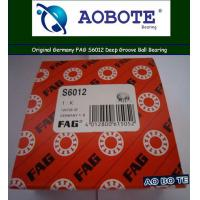 China FAG Deep Groove Ball Bearing S6012 , Open ABEC-5 High Speed in Automotive wholesale