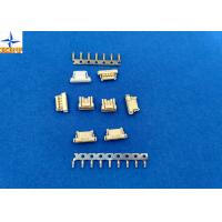China Yellow PCB Connectors Wire To Board , 6 Pin Connector Single Row Housing wholesale