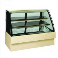 china led lights wood display cabinets butter icecream glass display