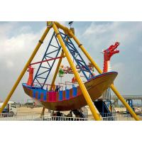 China 2000W Pirate Ship Ride Upside Down 360 Looping Pirate Ship For Theme Park wholesale