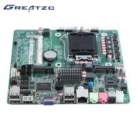 China I3 / I5 / I7 LGA1155 Motherboard With DC Power 19V 6 COM LVDS For POS Machine wholesale