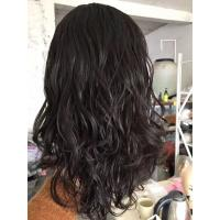 China 16 Inches Natural Color  Body Wave Jewish Wig  Brazilian Virgin Hair Hidden Knots with Baby Hair on sale