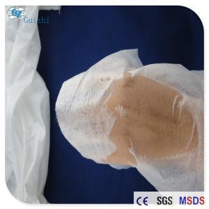China Imitation Silk Spunlace Nonwoven Fabric Transparent Mask Raw Material OEM wholesale