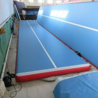 China High End Physical Exercises Inflatable Air Track Customized Height / Thick wholesale