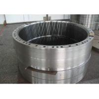 Quality Custom ANSI Forged Steel Flanges , Planetary Gear Forging Ring Flange 17CrNiMo6 for sale