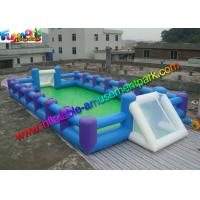 China Human Table Soapy Inflatable Soccer Field Football Court Arena 16m X 8m wholesale