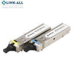 China 2.5G  Single Mode  SFP BiDi LC 10 km, ᵀˣ1550 / ᴿˣ1310 nm optical transceiver module wholesale