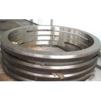China High Speed Ring Rolling Forging Alloy Steel 4340 Wind Turbine Gear wholesale
