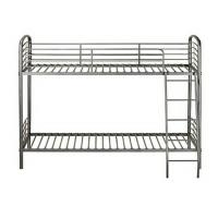 China Dorm Room Metal Furniture Bunk Beds With Strong Ladders For Young Kids wholesale
