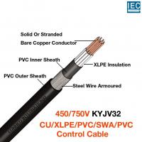 China XLPE Insulated Steel Wire Armoured PVC Sheathed Control Cable-KYJV32 wholesale