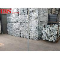 China Floor Support Steel Shoring Posts Temporary Props Construction Long Life Span wholesale