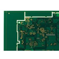 Buy cheap 6 Layers HDI Printed Circuit Boards Green 1oz Copper ENIG PCB from wholesalers