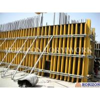 China Concrete Wall Formwork System With H20 Wooden Beam and Steel Walers wholesale