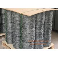 China Electro Galvanized Fence Barbed Wire For Grass Boundary / Highway Protecting wholesale