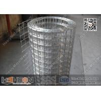 "China 1/2""  aperture Hot Dipped Galvanised Welded Wire Mesh Roll 