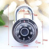 China 50MM Round Dial combination padlock/compass decorated padlock wholesale