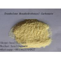 Quality CAS 23454-33-3 Healthy Parabolan Nandrolone Steroid Tren Hexahydrobenzylcarbonate Yellow Powder for sale