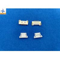 China 1.25mm Pitch usb Circuit Board Wire Connectors With Lock Structure PA66 / LCP Material wholesale