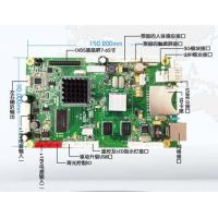 Ethernet Digital Signage LCD PCB Board RMVB BMP With TF Card / Date Storage Memory