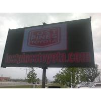 China P 8mm Full Color Outdoor LED Billboard , SMD3528 Advertising LED Display CVBS wholesale