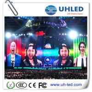 Quality Slim Rental P4 SMD Indoor LED Screen , IP30 1R1G1B Die - Cast Display for sale